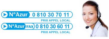 Numéro de téléphone et fax pour contacter SuperChance100.