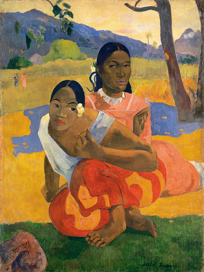 "Tableau ""Quand te maries-tu ?"" de Paul Gauguin"