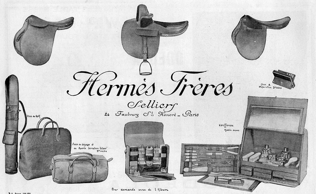 Hermès et la maroquinerie de luxe