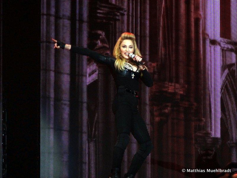 concert de Madonna