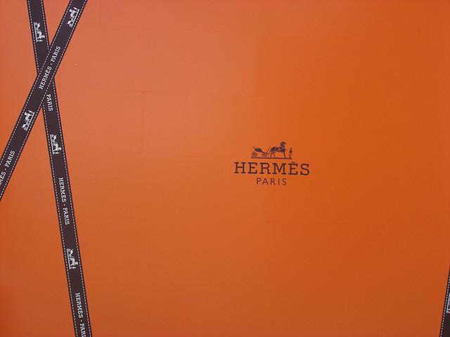 Le logo de la marque française Hermès.