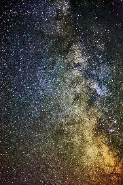 Image d'un ciel étoilé.