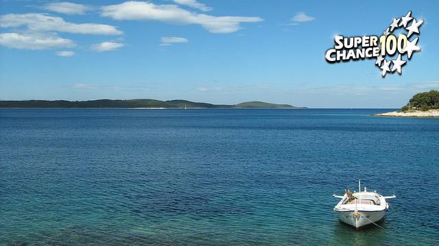 Bateau sur l'eau en Croatie.