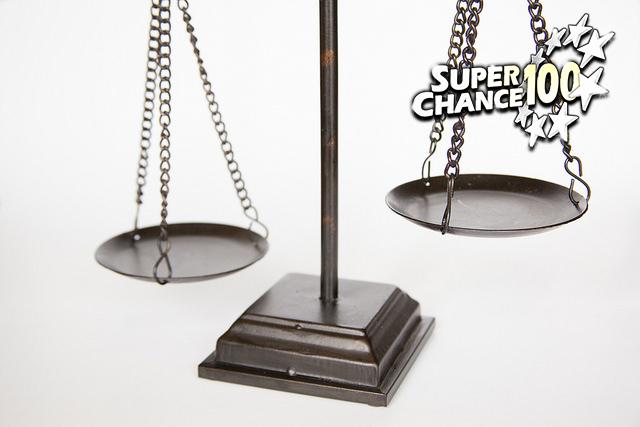 Photographie d'une balance.