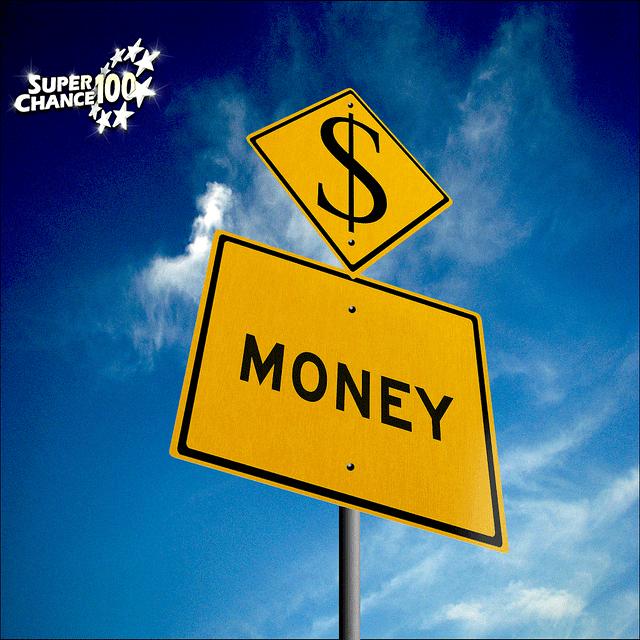 """Panneau sur lequel est inscrit """"money"""", soit """"argent"""" en français"""