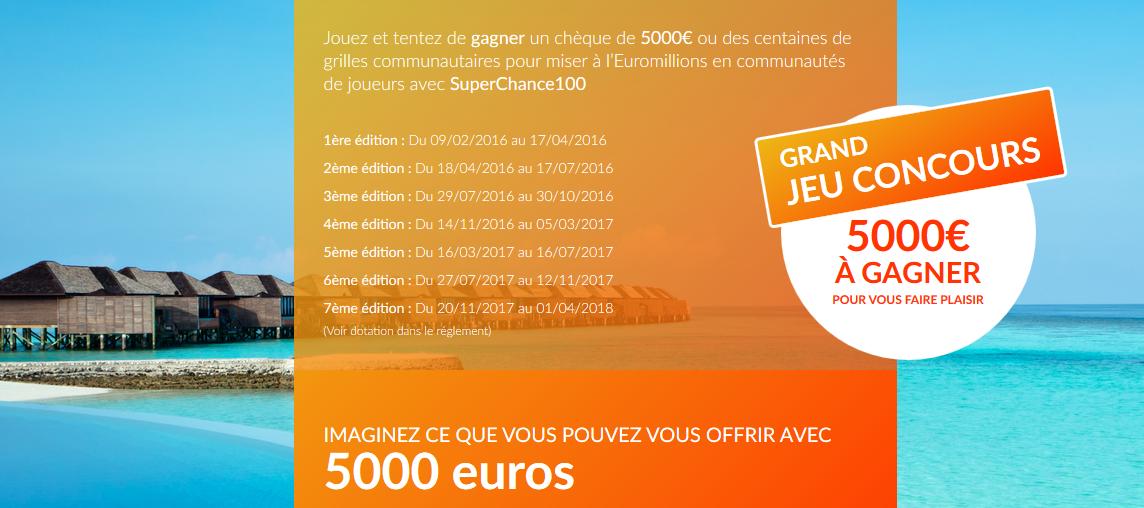Page d'accueil du site Mes 5000 rêves.