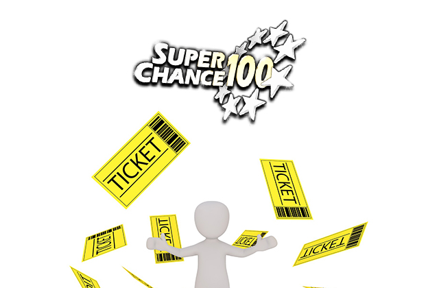 Billets de loterie de SuperChance100.