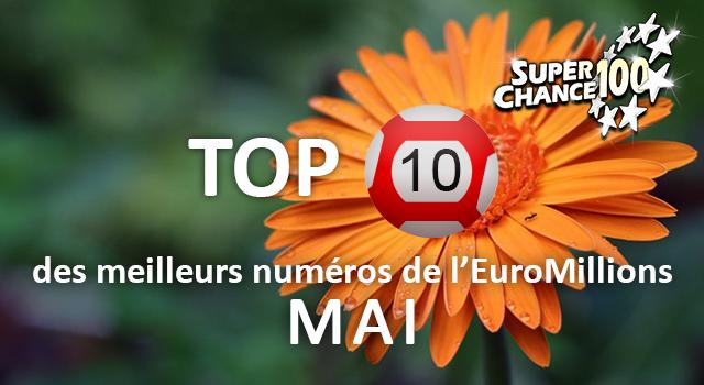 Les statistiques de l'Euro Millions du mois de mai !