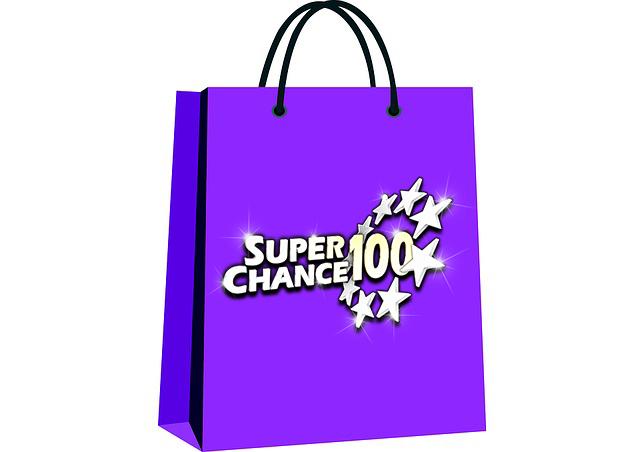 Sac d'achat de grilles d'EuroMillions sur SuperChance100.
