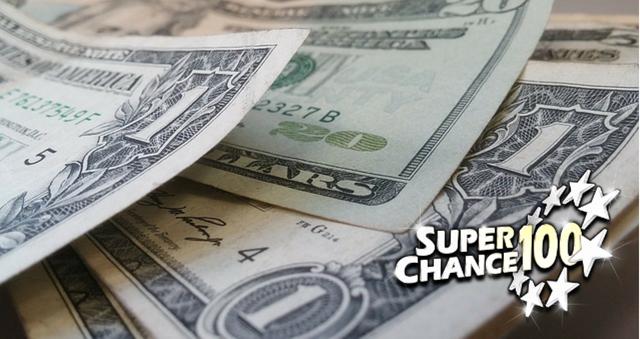 Liasse de billets de banque (dollars).