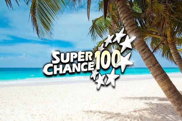 Destination de rêve d'un gagnant à la tombola SuperChance100