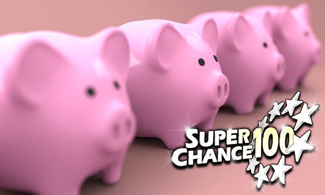 Les tirelires en forme de cochon de SuperChance100.