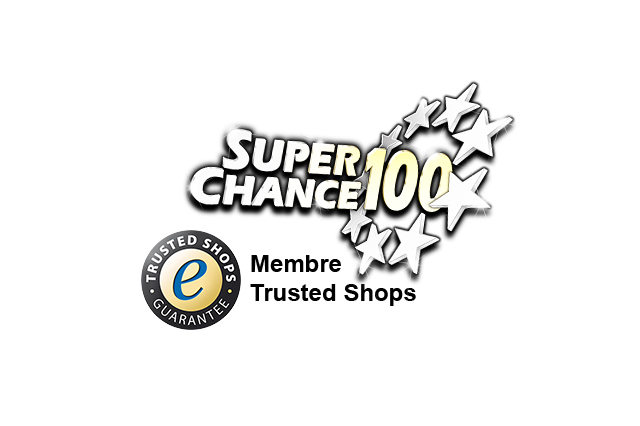 SuperChance100 est membre Trusted Shops.