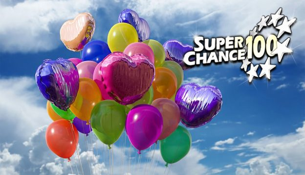 Ballons d'anniversaire de SuperChance100.