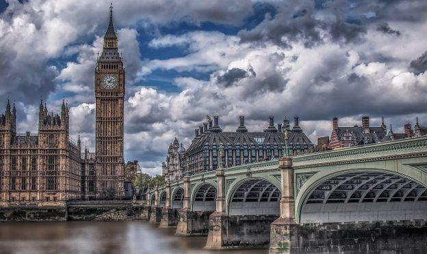 C'est Londres.