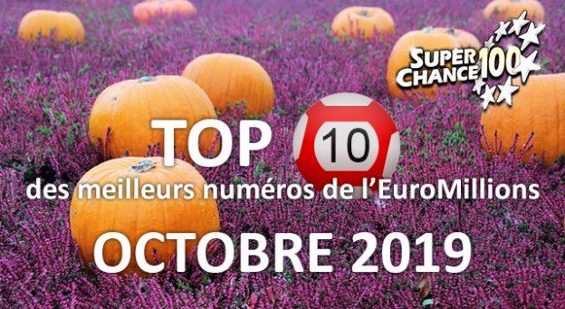Jouez à l'EuroMillions en octobre.