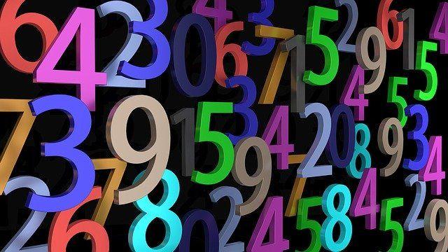 Ce sont des chiffres en couleurs.