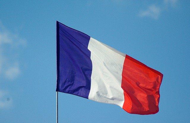 C'est un drapeau français.
